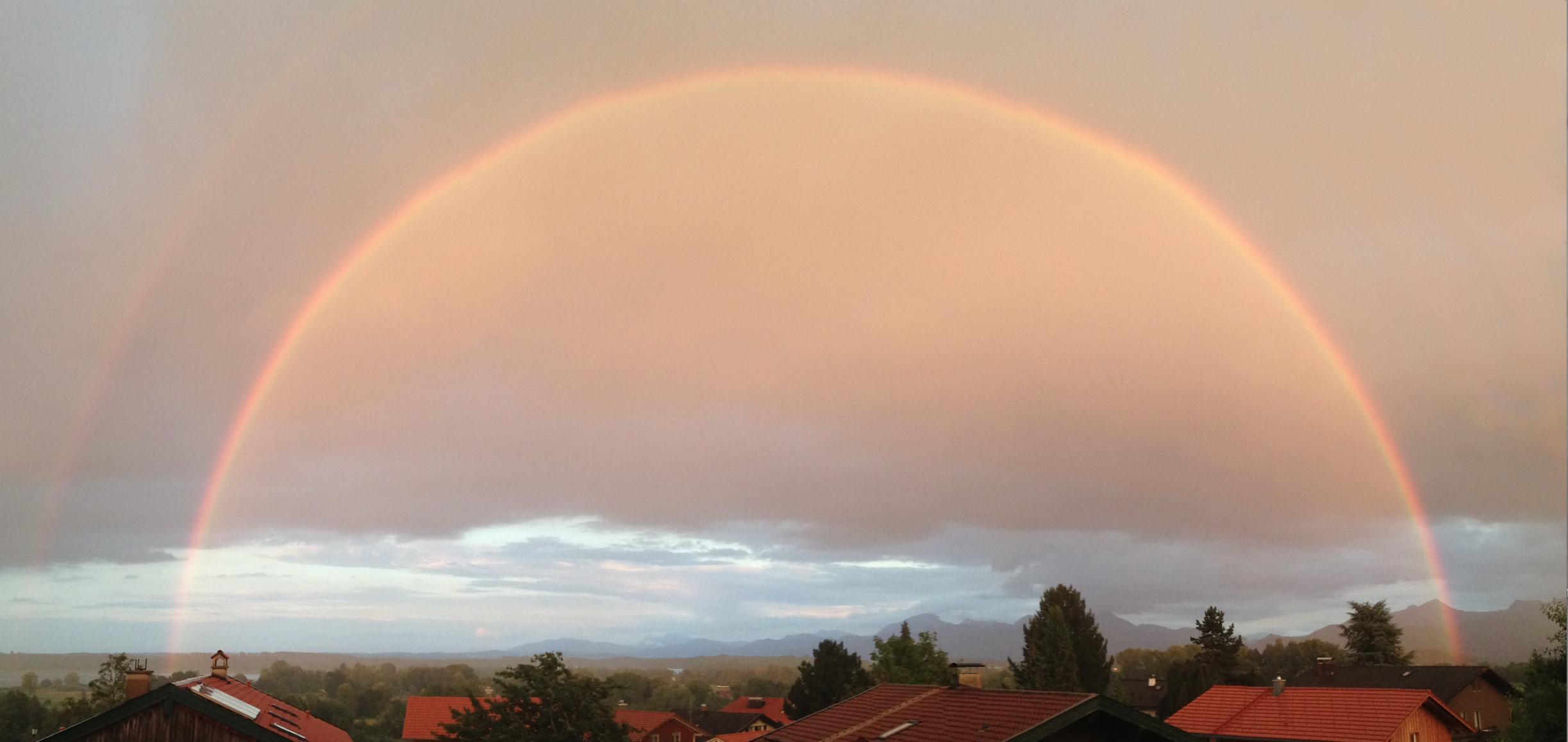 Bildschirmfoto Regenbogen